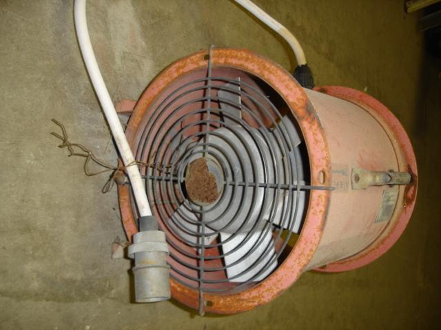 Dust Control Fans : Caldwell aeration fan a i equipment